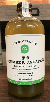 Yes Cocktail Co. - Cucumber Jalapeno Cocktail Mixer