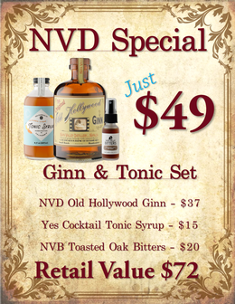 NVD - California Ginn & Tonic Set