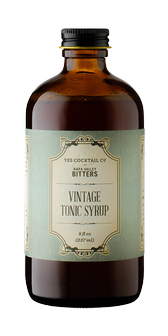Yes Cocktail & Napa Valley Bitters - Vintage Tonic Syrup