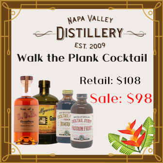 Walk the Plank Cocktail Kit