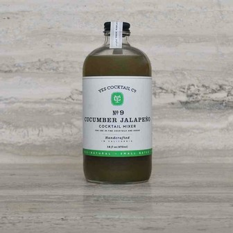 Yes Cocktail Co. - Cucumber & Jalapeno Mixer - 16oz