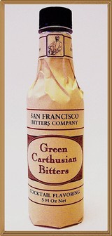 San Francisco Bitters Collection - Green Carthusian