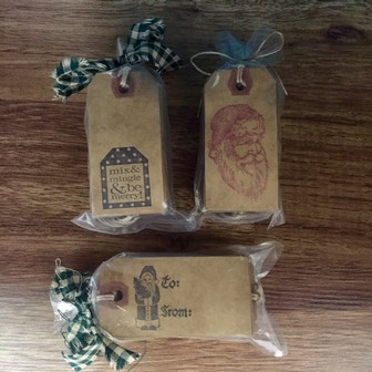 Misc - Kraft Holiday Gift Tags
