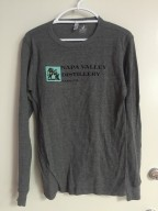 Misc - Shirt, Deep Heather Long Sleeve Thermal