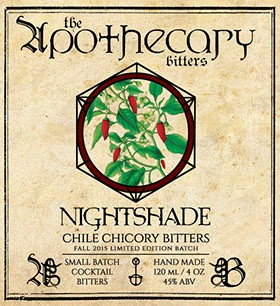 Apothecary Bitters - Nightshade Bitters