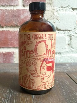 Shire City Herbals - Fire Cider UNSWEETENED (8oz)